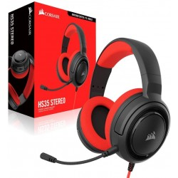 Casque HS35 STEREO ROUGE