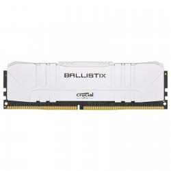 CRUCIAL BALLISTIX WHITE - DDR4 - 8G (1X8G) - 3200MHZ/ PC4-25600