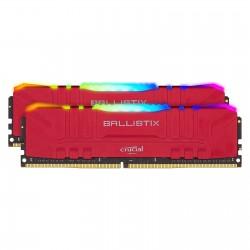 CRUCIAL BALLISTIX RED RGB - DDR4 -16G (1X16G) - 3200MHZ/ PC4-25600