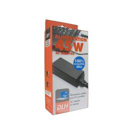 DLH ALIMENTATION SECTEUR 45W DELL 100% COMPATIBLE (sauf USB-C), Ordinateur portable, Intérieure, 100-240 V, 50/60 Hz, 45 W, 19 V