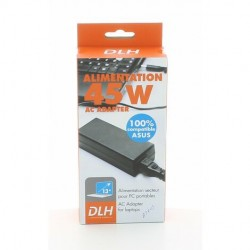 DLH ALIMENTATION 45 W AC ADAPTER COMPATIBLE ASUS